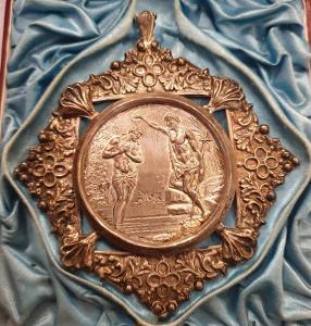 Stříbrná Kritici Medaile S Etui