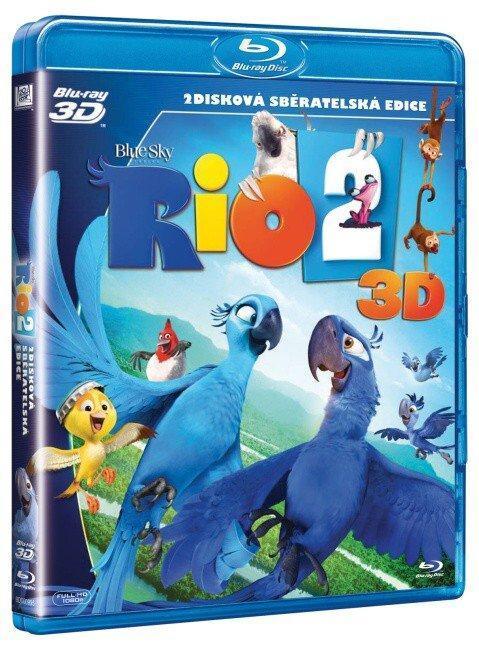 RIO 2 (2D+3D) (2 BLU-RAY)  - Film