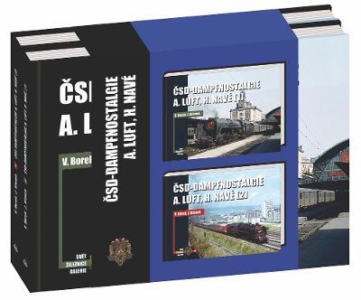 ČSD-Dampfnostalgie A.Luft, H.Navé 1 und 2 - set