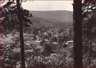Dubí * lázně, celkový pohled, krajina * Teplice (Krušné hory) * V214