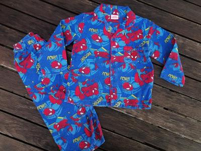 SPIDERMAN pyžamo vel 2 - 3 roky - 98 + bez vady