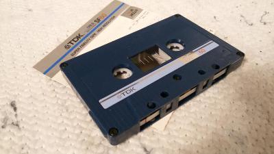 Audio Kazeta TDK SF 60 Super Fidelity Tape Japan