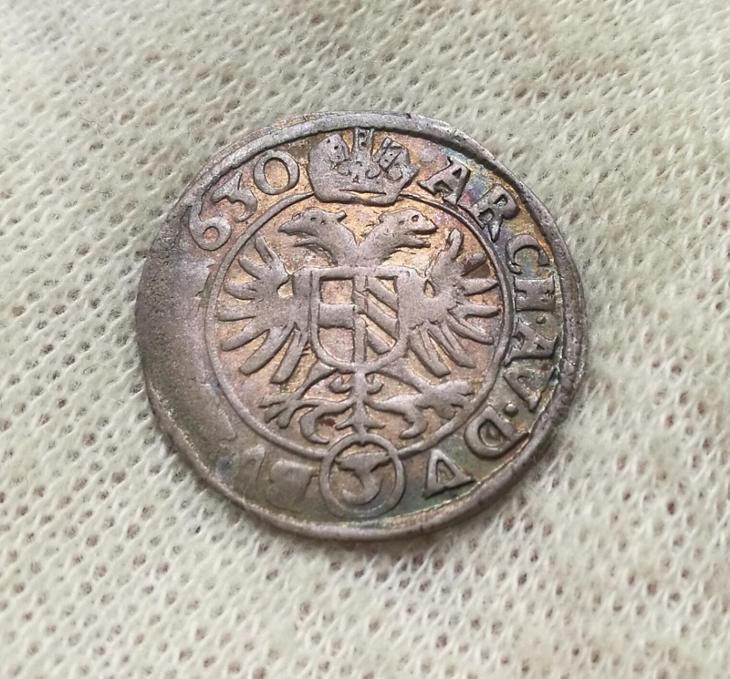 Ferdinand II. 3 Krejcar 1630 Praha Du Bois R - Numismatika
