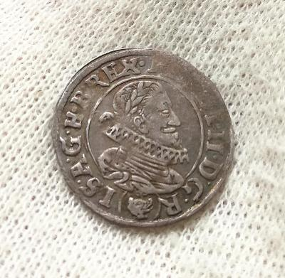 Ferdinand II. 3 Krejcar 1630 Praha Du Bois R