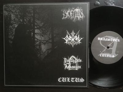 Branstock + Cultus + Odal + Deathgate Arkanumde LP 2004 NM