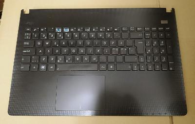 Asus X501A - palmrest, klávesnice