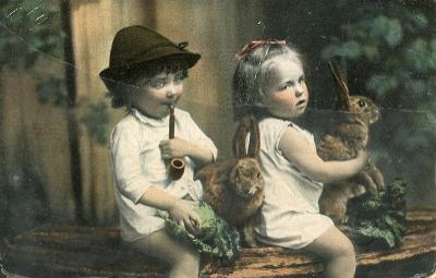 Děti - prošlá 1908 **