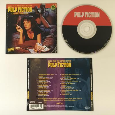 Various – Pulp Fiction (Music From The Motion Picture) CD