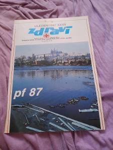 Časopis Zdraví 1/Leden/1987