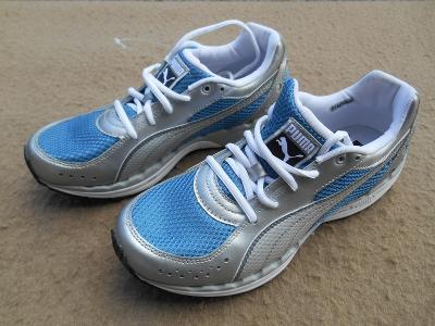 Nové dámské fitness boty na chůzi zn.: PUMA BodyTrain Mesh vel. 39