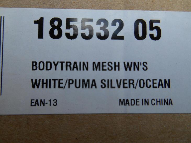 Nové dámské fitness boty na chůzi zn.: PUMA BodyTrain Mesh vel. 39 - Dámské boty