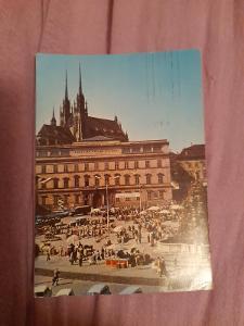 Pohlednice Brno,prošlé poštou
