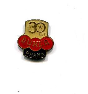 Dukla Praha 30 let - klubový odznak fotbal