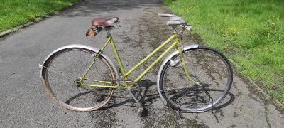 """ESKA SPORT 26"""" 1963 HISTORICKÉ kolo do sbírky Veterán 52cm Single Sp."""