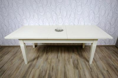 Jídelní stůl rozkládací, dřevo masiv (11808B) E