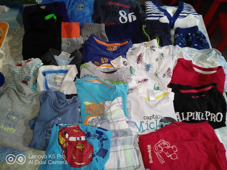 Balík oblečení chlapec vel. 86/92 - Oblečení