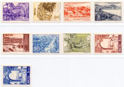 Macao 1950 - vzácné