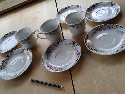 starý porcelán šálky /851