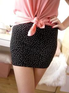 H&M elastická mini sukně