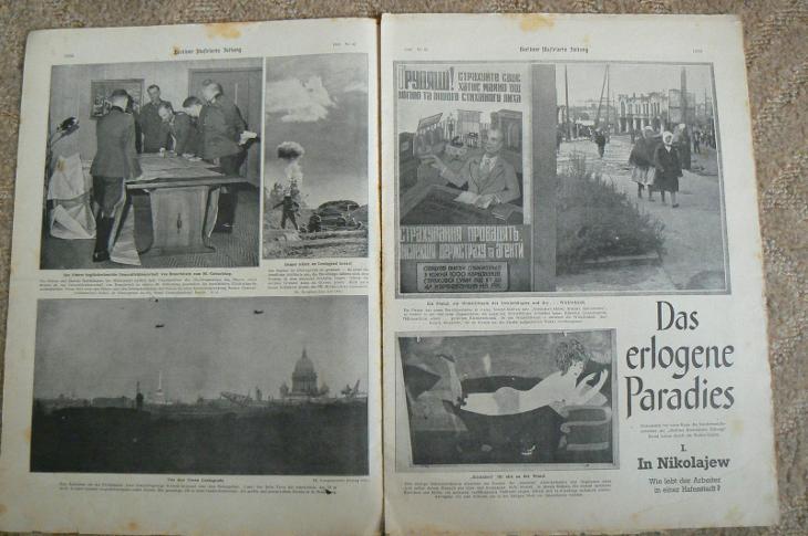 NĚMECKÝ ČASOPIS BERLINER ILLUSSTRIERTE ZEITUNG -  n. 42/1941 - Vojenské