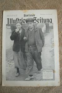 NĚMECKÝ ČASOPIS BERLINER ILLUSSTRIERTE ZEITUNG -  n. 42/1941