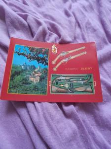 Pohlednice Zámek Žleby,neprošlé poštou