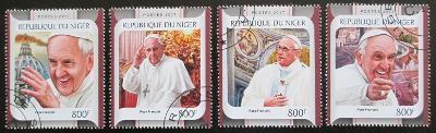 Niger 2017 Papež František Mi# 4925-28 Kat 13€ 2308