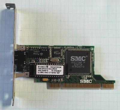 Síťová karta SMC 83C170QF D3 9432TX 10/100Mbit/s PCI