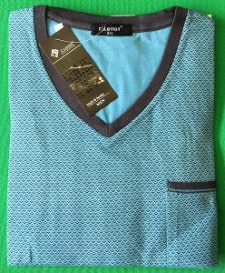 Pánská noční košile s krátkým rukáv vel. 3XL, 4XL, 5XL(9)