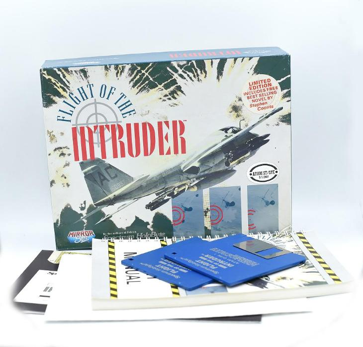 ***** Flight of the intruder (Atari ST) ***** - Historické počítače