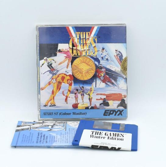 ***** The games winter edition (Atari ST) ***** - Historické počítače