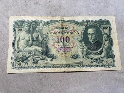 Bankovky - 100 Kčs serie Ec, VA476