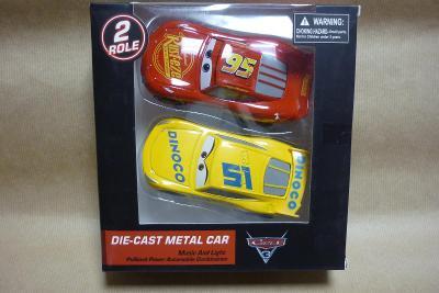 Autíčka Cars