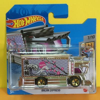 Raijin Express - Hot Wheels 2021 102/250 (E14-b3)