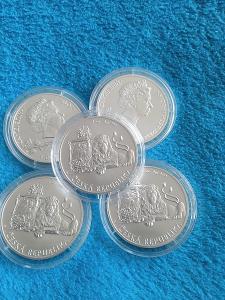 Stříbrná investiční mince Český lev 2019 - 1 unce