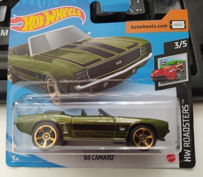 Chevrolet Camaro '69 - Hot Wheels