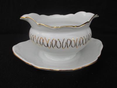 Starý porcelánový omáčník / neznačený
