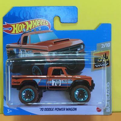 '70 Dodge Power Wagon - Hot Wheels 2021 3/250 (E24-b2)