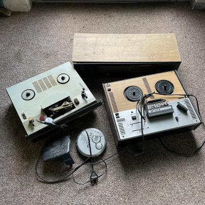 RETRO MIX - rádia, magnetofony, gramofony, audio vybavení - NEFUNKČNÍ