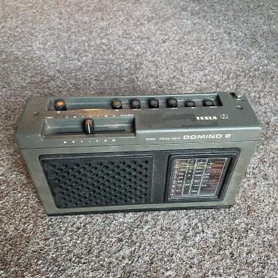 Tranzistorové rádio Tesla Domino 2
