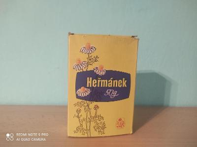 Retro Heřmánek s obsahem ! / retro zboží
