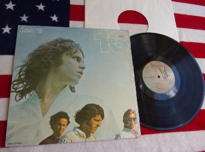 ⚠️ LP: THE DOORS - 13, jako nová (NM), sign Artisan! 1.press USA 1970