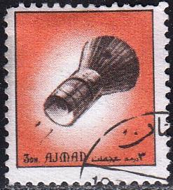 Adžmán / Ajman 1972 Mi.2505 razítko, kosmos - vesmír