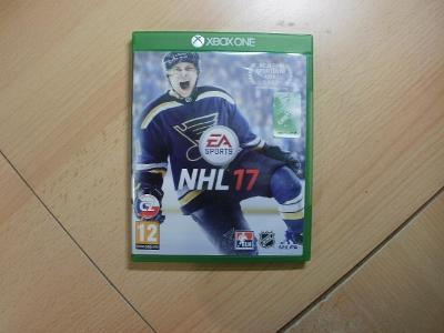 Hra na XBox ONE - NHL 17 - České titulky