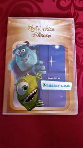 Příšerky s.r.o. - kreslené DVD -  Zlatá Edice Disney. Pixar