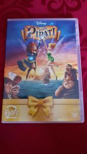Zvonilka a Piráti - kreslená edice Disney !!!