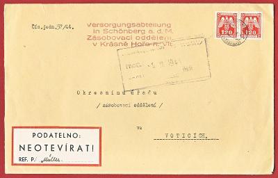 Československo Obálka - Protektorát 1941