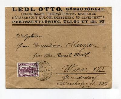 MAĎARSKO - OBÁLKA DO VÍDNĚ 1933 ? /AL - 4 - 4