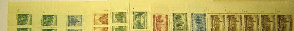 Krajiny,hrady a města II.vydání .31.3.1940 ** Ojedinělá nabídka - Filatelie