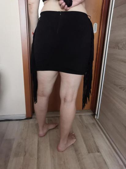 Dámská sukně s třásněmi - Dámské oblečení